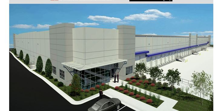 Perimeter West Industrial Rendering